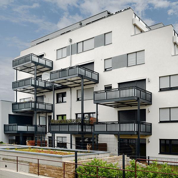 Aluminium-Balkonsysteme Hansmann